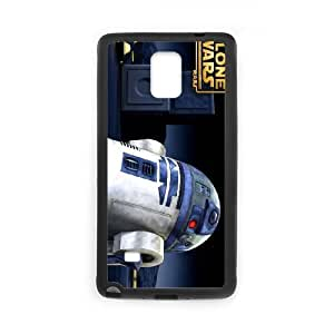 SamSung Galaxy Note4 phone cases Black Star Wars R2D2 cell phone cases Beautiful gifts TRIJ2771710