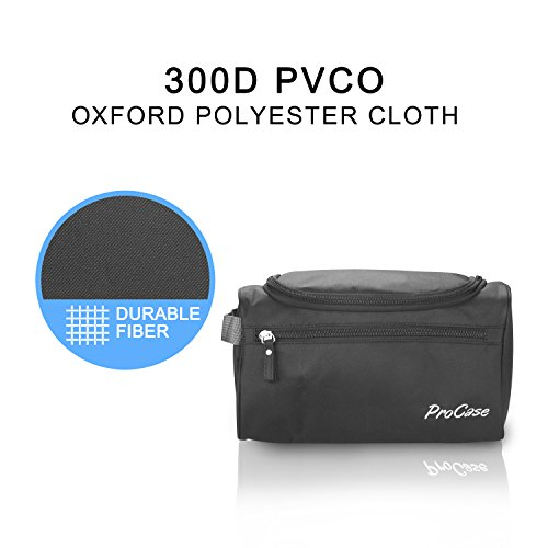 712a437878bd ProCase Toiletry Bag Travel Case with Hanging Hook