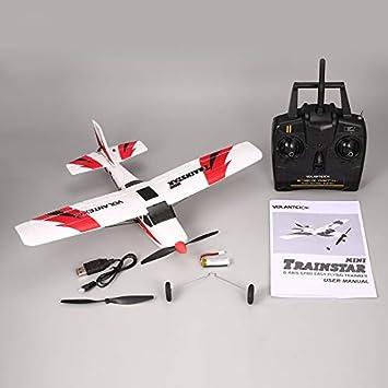 Amazon.com: Avión teledirigido, VOLANTEX V761-1 2.4 Ghz 3 CH ...
