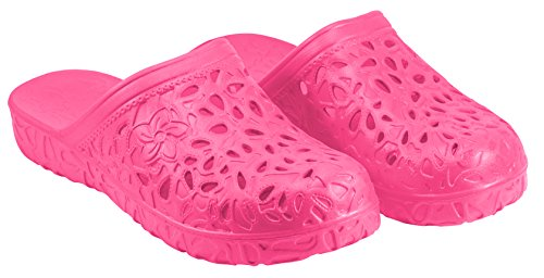 Clogs Store Women's Best Rubber Garden Shoes. Non Slip Sandals for Lawn Work and Nursing. Foam Plastic Slippers Hypoallergenic and Lightweight. No Smell