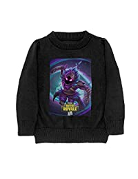 Fortnite Raven Youth Long Sleeve Pullovers Sweater