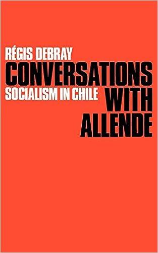 Conversations with Allende: Socialism in Chile: Amazon.es: Debray, Regis: Libros en idiomas extranjeros