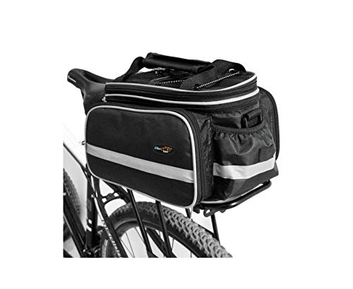 Disconano Waterproof Multi Function Excursion Cycling Bicycle Bike Rear Seat Trunk Bag Carrying Luggage Package Rack…