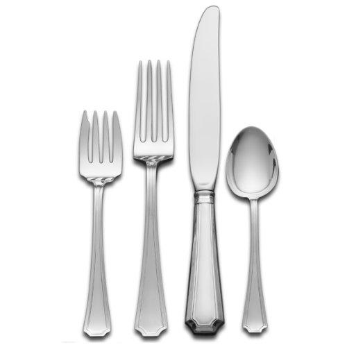 Gorham Fairfax 4-Piece Sterling Silver Flatware Place Set, Service for (Sterling Silver Salad Set)