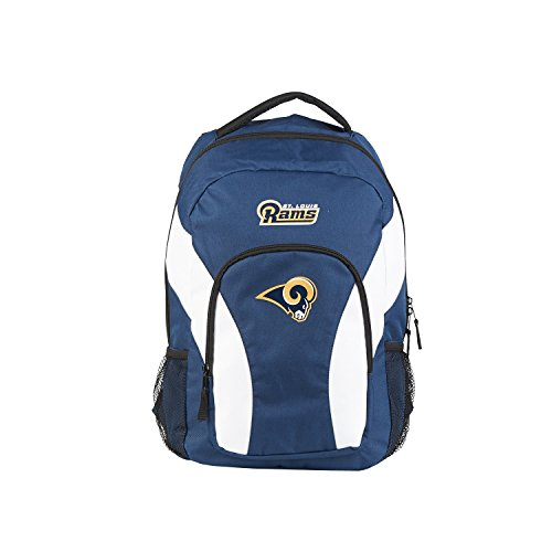 (NFL St Louis Rams DraftDay Backpack, 18-Inch, Navy)