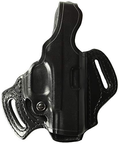 Aker Leather 168 FlatSider XR12 Belt Holster for Glock 19/23, Black, Right Hand