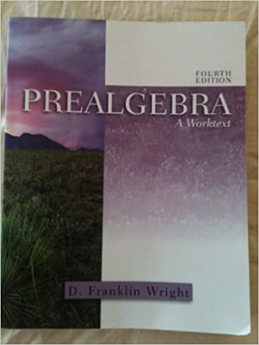 Prealgebra a worktext d franklin wright 9781932628258 amazon prealgebra a worktext 4th edition fandeluxe Gallery