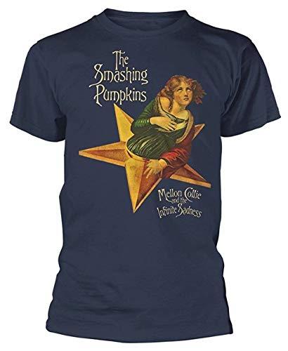 MiMooc The Smashing Pumpkins 'Mellon Collie and The Infinite Sadness' T-Shirt Navy