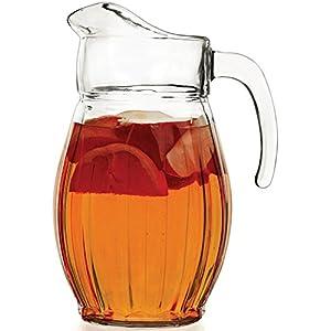 Circleware Cornado Glass Beverage Pitcher, 66oz