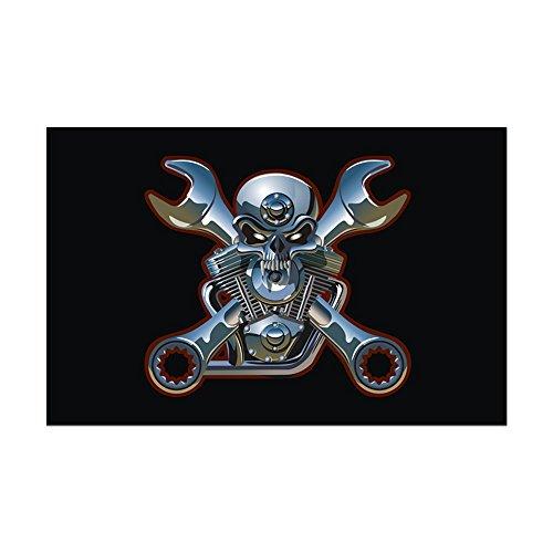 Mini Poster Print Motorhead Skull Wrenches ()