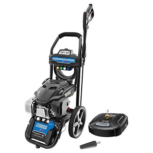 "Powerstroke 3100PSI Yamaha Gas Pressure Washer with 14"" Surface Cleaner and Turbo Nozzle"