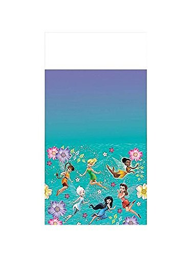 Amscan Tinkerbell Best Friend Fairies Plastic Tablecover