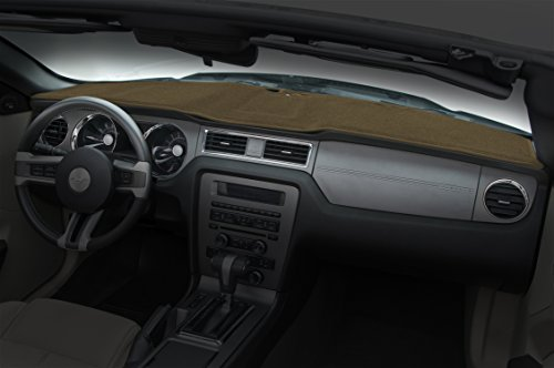 Coverking Custom Fit Dashcovers for Select Jaguar XJ12/XJ6 Models - Poly Carpet (Caramel) by Coverking
