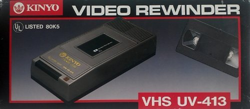 KINYO UV-413 1-Way VHS Rewinder, Model: , Electronic Store & More ()