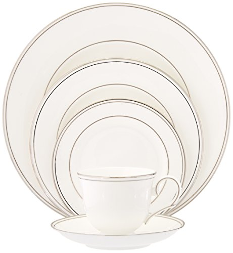 (Lenox Federal Platinum Bone China 5-Piece Place Setting, Service for 1)