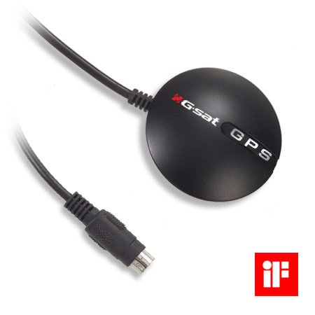 GlobalSat BR-355 BR-355 Serial GPS Receiver