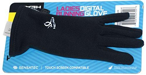 HEAD Sensatec Touchscreen Ladies Digital Running Gloves (Small, Black) by HEAD (Image #2)