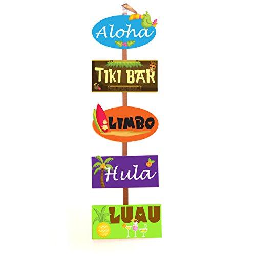 Loving the Luau Door Banner Signs Set  sc 1 st  Amazon.com & Door Banners: Amazon.com