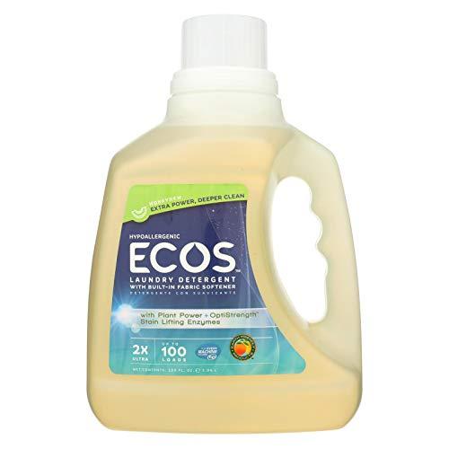 (Earth Friendly Laundry Detergent - Ecos - Honeydew - Case of 4-100 Fl Oz)