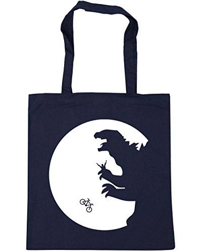 HippoWarehouse no va a casa luna bolsa de la compra bolsa de playa 42cm x38cm, 10litros azul marino