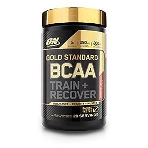 Optimum Nutrition Gold Standard BCAA, Cranberry Lemonade, 28 Servings, Branched Chain Amino Acids, 5g BCAA blend