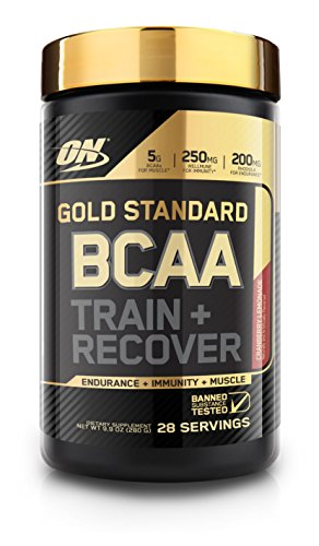 Optimum Nutrition Gold Standard BCAA, Cranberry Lemonade, 28 Servings, Branched Chain Amino Acids, 5g BCAA blend