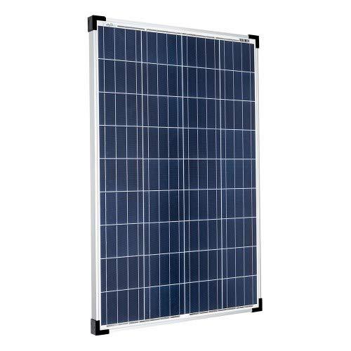 001570 Offgridtec 100/W Poly panel solar 12/V M/ódulo Solar Panel Solar 100/W Jard/ín de camping de caravanas 1/pieza