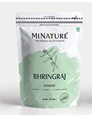 mi nature Bhringaraj powder Eclipta Prostrata, leaf powder