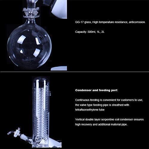 EAST Brand WTRE-201D Multi-Function Rotary Evaporator Total System Complete Set 2Lfor Lab Use by EAST (Image #7)