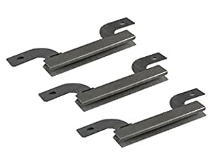 PartsBlast Brinkmann 810-3660-S Grill Stainless Steel Crossover Tube Replacement Parts Kit