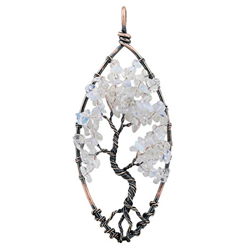 rockcloud-tree-of-life-tumbled-stone-pendant-necklace-wire-wrapped-oval-shape
