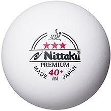 Nittaku Premium 3 Star Table Tennis Balls - White by NITTAKU