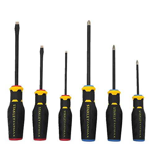 Stanley FMHT62052 6 Piece FatMax Diamond Tip Screwdriver Set ()