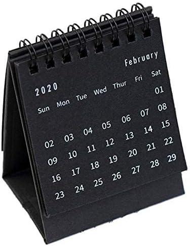 Mini Tischkalender 2020 Flip Calendar Desktop Trinket Note Kleiner Tischkalender (7.5x9.5cm / 2.95x3.74in)