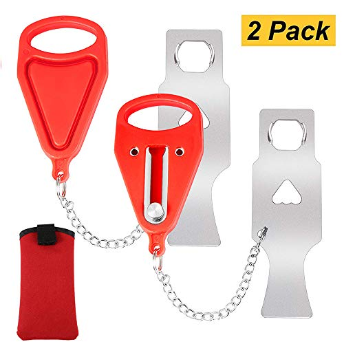 Portable Door Lock,Travel Lock,AirBNB Lock,Safety Lock for Travel,Hotel,Home,Apartment (2)