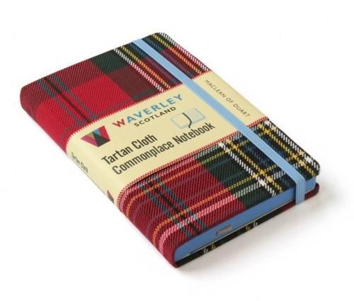MacLean of Duart: Waverley Genuine Tartan Cloth Commonplace Notebook (Waverley Scotland Tartan Cloth Commonplace Notebooks/Gift/stationery/plaid)