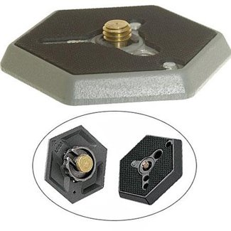 Manfrotto 030-14 Replacement Hexagonal Quick Release Plate w