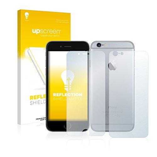 upscreen Scratch Shield Pellicola Protettiva Opaca Apple iPhone 6S (Anteriore + Posteriore) Protezione Schermo – Antiriflesso, Anti-Impronte