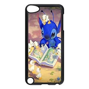 Custom LiuXueFei Phone caseLilo And Happy Stitch,Ohana Means Family FOR IPod Touch 4th -Style-17