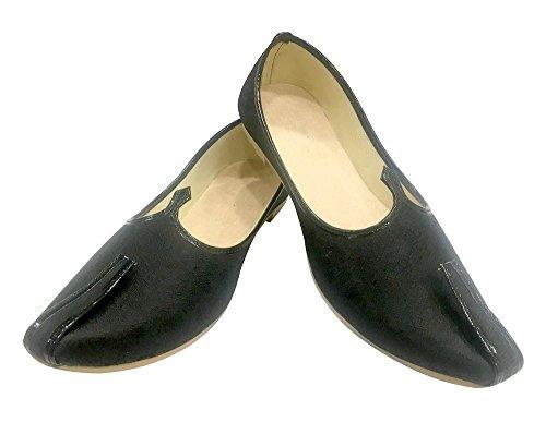 Step N Style Mens Tradizionale Jutti Pakistano Scarpe Sherwani Scarpe Etniche Scarpe Joti