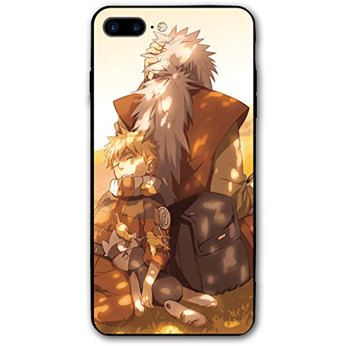 iPhone 7/8 Plus Anime Wallpaper Naruto Uzumaki Kakashi Sakura Sasuke Jiraiya Cases for Apple (Best Naruto Wallpapers For Mobile)
