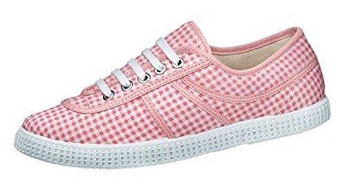 My Way Slipper - Zapatos de Cordones Mujer Rosa - rosa