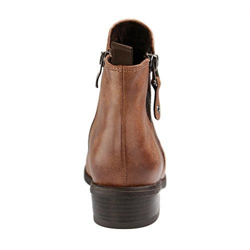 Marco Tozzi 2-25307-27 - Botas de Material Sintético para mujer marrón