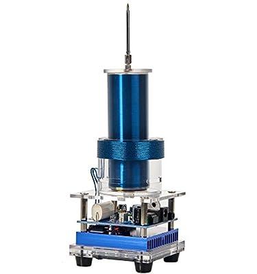 Joytech Music Tesla Coil Arc Plasma Loudspeaker Wireless Transmission Experiment Desktop Toy Model DL06