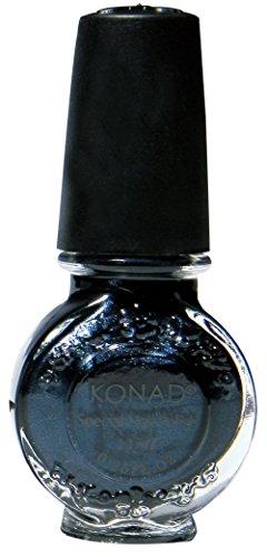 Konad Nail Art Stamping Polish, Black