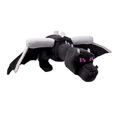 Wandofo Ender Dragon Plush Toys Black Minecraft Enderdragon Stuffed Plush Toys Cartoon Game Soft Toy Kids Gift
