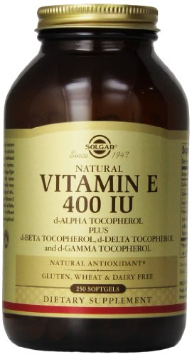Альтман Витамин Е 400 МЕ Смешанная капсул D-альфа-токоферол и смесь токоферолов, 250 Граф