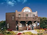 PIKO G SCALE MODEL TRAIN BUILDINGS - BLACK HILL SALOON for sale  Delivered anywhere in USA