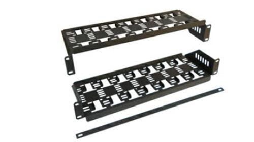8 Receiver Rack Shelf - Multi Unit 8 shelf for Directv H25 Satellite Receivers