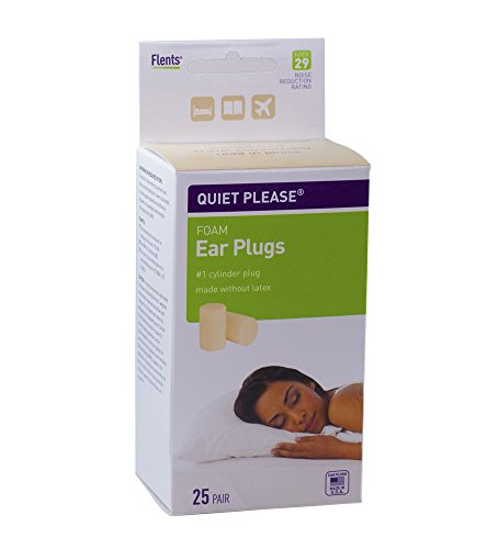 Flents Quiet Please Foam Ear Plugs  25 Pair,